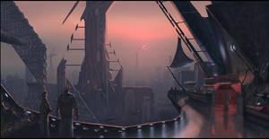 Slanted city by matellis