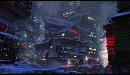 Stacked City by matellis