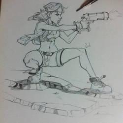 Lara by nadart12