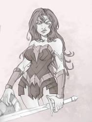 Wonder Woman by nadart12