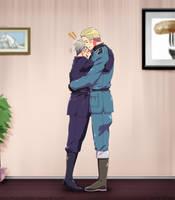 Germbro hug! by Hubedihubbe