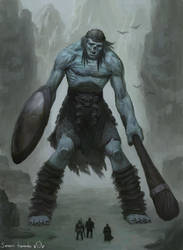 Zombie Giant by toshi13go