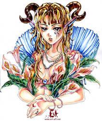 Devil by elf-art