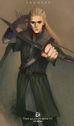 Legolas by elf-art