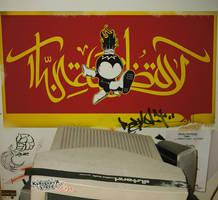 wall of my old studio by bimalizer