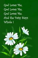 God's Love Keeps Me Whole by Peekeeboo