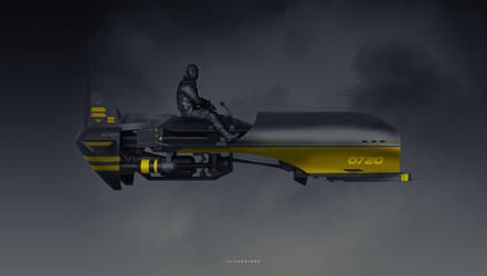 Wasper Hunter Bike by alanquiroz