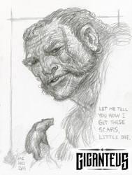 Giganteus-- A Scar's Tale.... sketch by McHughstudios