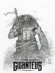 Giganteus --- Walking Tall sketch by McHughstudios