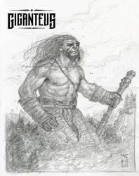 Giganteus--Meditation Sketch by McHughstudios