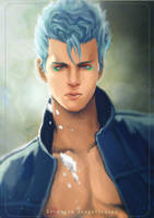 Grimmjow Jeagerjaques by maorenc