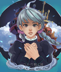 Howl's Moving Castle by maorenc