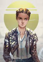 Game of Thrones --- Arya Stark by maorenc