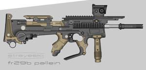 Strayeskii Firearms \\ FR29B Pallein PDW by prokhorvlg