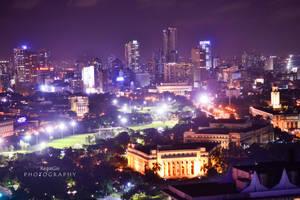 Manila at Night by RegieGie