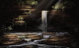 Hidden Falls by jjpeabody