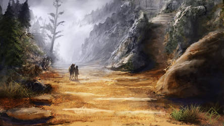 Mountainous Journey by jjpeabody