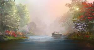 River Light by jjpeabody