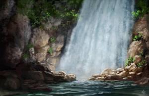 Waterfall by jjpeabody