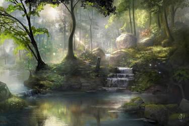 Healing Springs by jjpeabody
