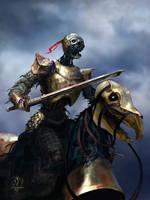Death Knight by jjpeabody