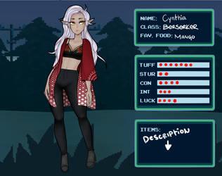 [ iV ] Cynthia by annasuu