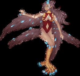 crystal harpy by annasuu