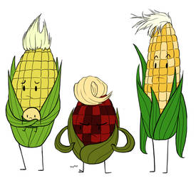 Corn People by Teh-Lady-Randomness
