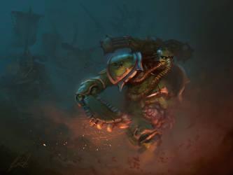 Death Guard by chimpinx
