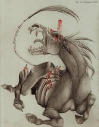 Fallen Unicorn by Xx-ArtyAmy-xX