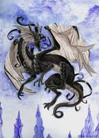 Black Dragon by Xx-ArtyAmy-xX