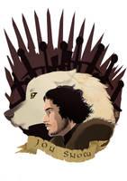 Jon snow by pixonsalvaje
