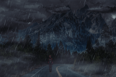 Rain in the Mountains by PivajGC