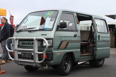 Rotary Suzuki Carry Van by oddthing2