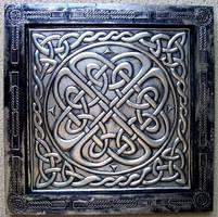 framework embossing Celtic art by CacaioTavares