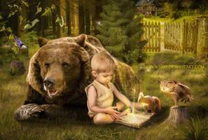 Magic book by Lubov2001