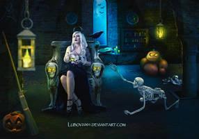 Halloween night by Lubov2001