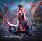 Japanese goddess by Lubov2001