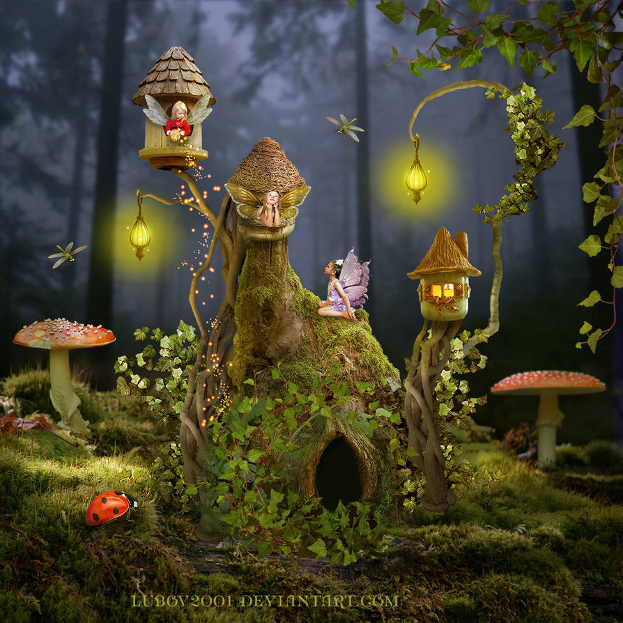 House for fairies by Lubov2001