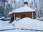 Snowy house 5 by Lubov2001