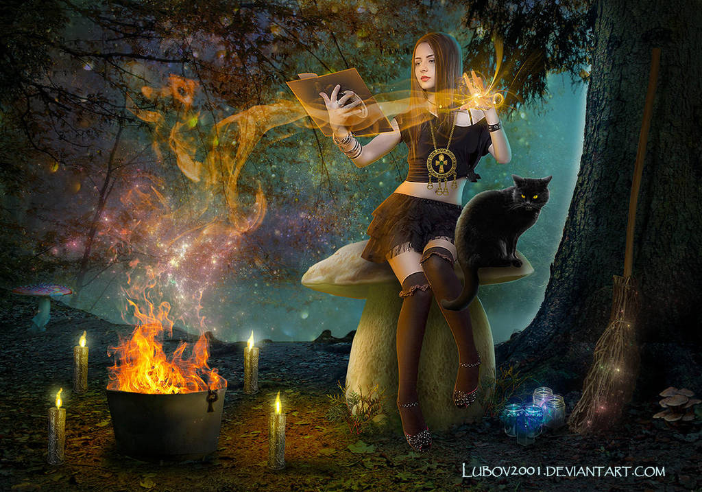 Forest witch by Lubov2001