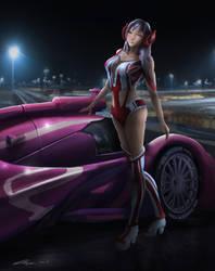 Pepper Race Queen by Sh0jin