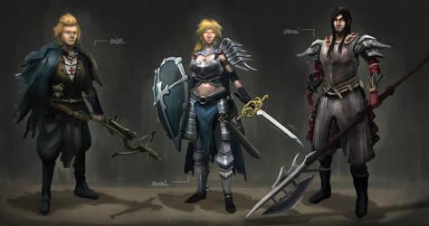 Templar OC Concept by Sh0jin