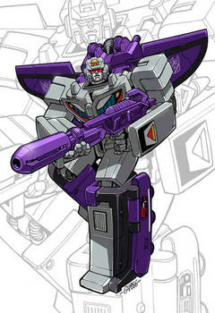 IDW G1 Card - Astrotrain by GuidoGuidi