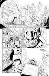 IDW TF 20 p.13 - Digital Inks by GuidoGuidi
