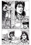 Hokuto no Ken page repro by GuidoGuidi