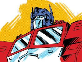 United Optimus Prime by GuidoGuidi