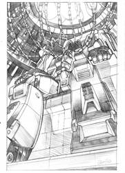 starscream cover pencils by GuidoGuidi
