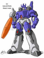Galvatron early study - colors by GuidoGuidi