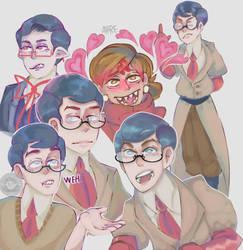 doctooooooors doodle by D--EN
